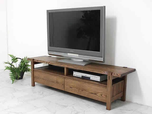 国産栗材を使用和のインテリアに似合うTVボード