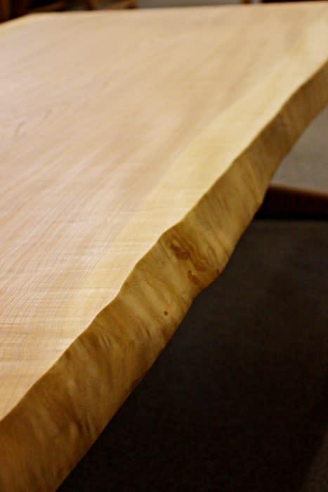 一枚板テーブル表天使用、耳付き